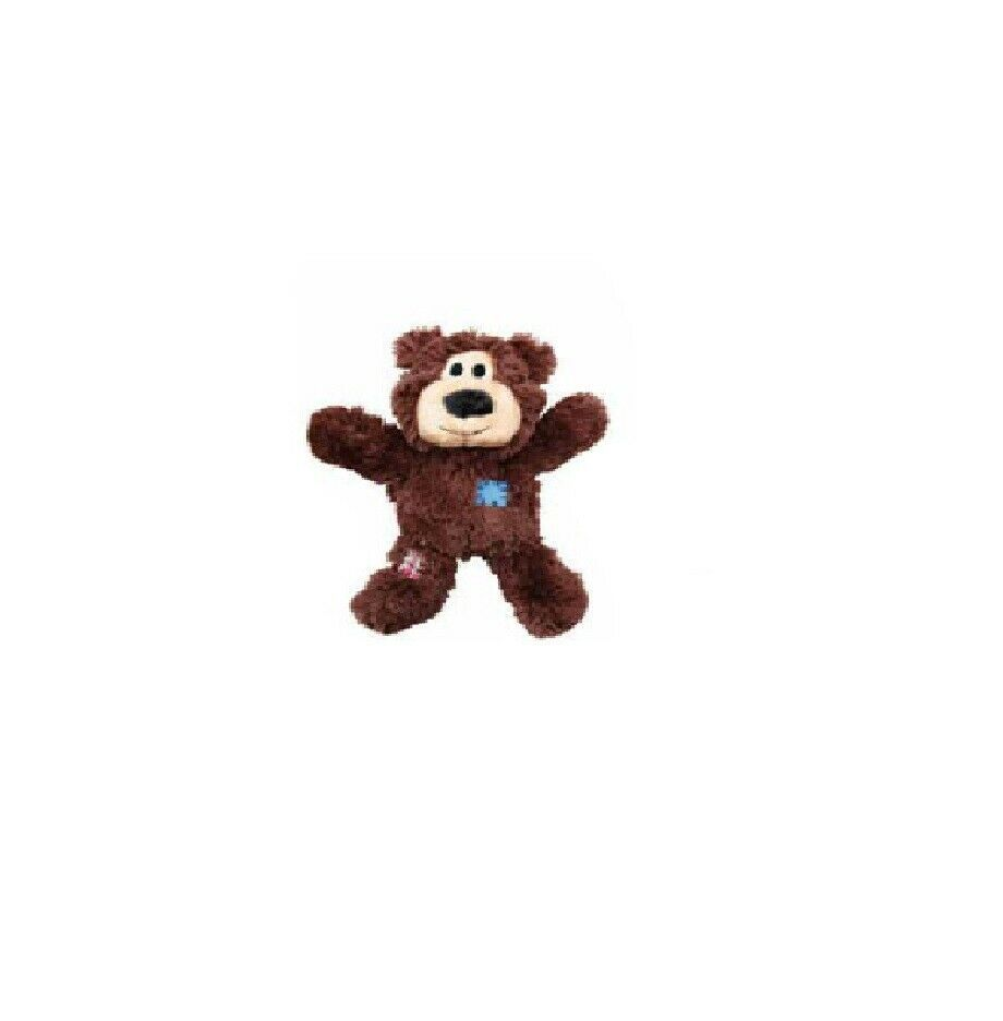KONG Wild Knots Bear for Dogs Internal knotted rope skeleton Brown Extra Small