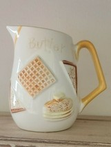 """Vintage Napcoware Pitcher ~ 1940s-1960s ~ C-5818 ~ """"Butter"""" ~ Mid Century - $38.00"""