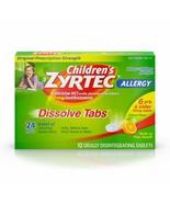 Children's Zyrtec 24 Hour Dissolving Allergy Relief Tablets with Cetiriz... - $19.74