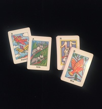 Vintage 80s Creative Child Games card game: ABC FLASHCARDS image 3