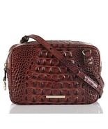 NEW AUTHENTIC BRAHMIN DEMI SHOULDER BAG CROSSBODY (Pecan Melbourne) - $221.76