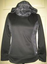 DANSKIN NOW Girl's Gray Fitness Hoodie Hooded Shirt L (10-12) - $9.99
