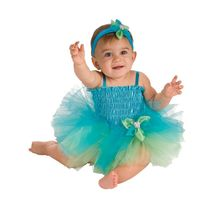 Infant Blue and Green Tutu Dress 6-9 Months Halloween Costume - $19.00
