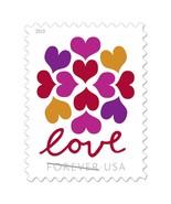 USPS Hearts Blossom Love Forever Stamps -Wedding, Celebration, Graduatio... - $49.44