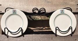 2 Vintage St Petersburg Yacht Club St Pete Florida Dessert Plates Homer ... - $29.37