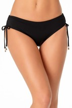Anne Cole BLACK Live In Color Tie Side Bikini Swim Bottom, US X-Small - $26.14