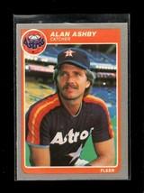 1985 FLEER #343 ALAN ASHBY NM ASTROS - $0.99