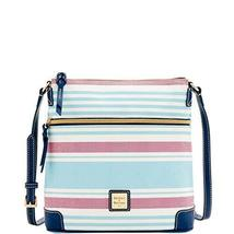 Dooney & Bourke Westerly Crossbody Sky Blue/Red