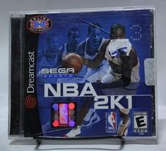 NBA 2K1 Sega Sports Dreamcast DC Complete CIB Basketball - $9.74