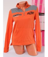 PINK VS Collegiate Collection Cowboys OSU 1/4 zip Jacket Size XS X-Small... - $47.99