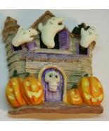 Spooky Haunted House Halloween Magnet Shaky Ghosts Skeleton Jack-o-Lanterns - $24.95