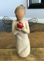 "2004 Demdaco Susan Lordi Willow Tree You're The Best Figurine Angel Teacher 5.5"" - $14.52"