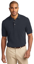 Port Authority K420 Men's Sort Sleeve Polo Shirt - Classic Navy - $17.98+