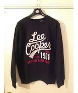 Lee Cooper Crew Logo Sweater / Mens  - Sizes : M / L / XL - Colour : Black - $15.06
