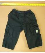 The Childrens Place Boys Pants 18 Mos Dark Gray - $9.77