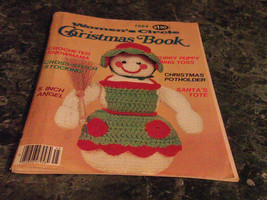 Womens Circle Christmas Book Magazine 1984 Crocheted Snowmama - $0.99