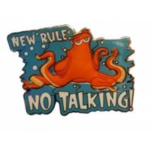 Disney Pin 116104 Hank New Rule No Talking ! Finding Dory Movie Septopus... - $28.17