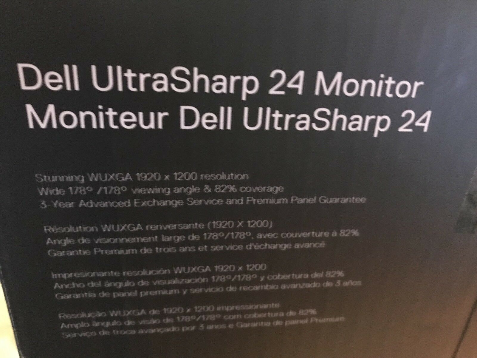 Dell UltraSharp U2412M 24-Inch Screen LED-Lit Monitor-Brand New