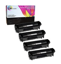 4PK Q2612A 12A Toner Cartridge For HP LaserJet 1010 1012 1018 1020 3030 ... - $30.97