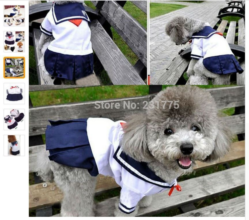 Cute Pet Cat Clothes For Small Cat Costumes Clothes Shirt Cat Dress Skirt Summer