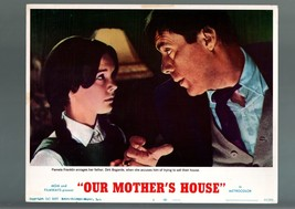 OUR MOTHER'S HOUSE-1967-VF-LOBBY CARD-DRAMA-PAMELA FRANKLIN-DIRK BOGARDE VF - $19.21