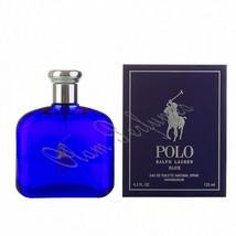 Ralph Lauren Polo Blue Men Edt Spray 4.2oz 125ml * New in Box Sealed * - $68.59