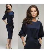 New Sexy Women's Summer Casual OL Business Party Evening Cocktail Midi D... - $36.72