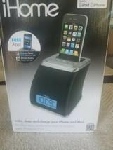 iHome iP21 iPhone iPod Charging Speaker Dock Alarm Clock  - $51.74 CAD