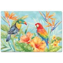 Tropical Birds Parrot Toucan Anti-Fatigue Comfort Floor Mat 30 x 20 - $35.64