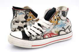 Converse Womens 6 Multicolor All Star Lace Up High Top Sneakers Shoes EU... - $47.99