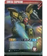 Transformers TCG OMEGA SUPREME AUTOBOT DEFENSE BASE RT P2/2019 Loot Crat... - $9.89