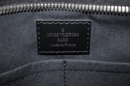 LOUIS VUITTON Damier Graphite Thomas Shoulder Bag N58028 LV Auth 7468