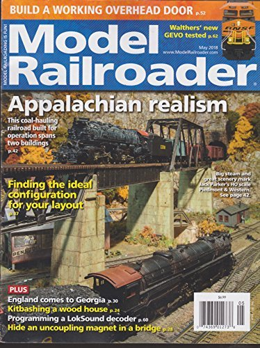 Primary image for Model Railroader Magazine May 2018 [Single Issue Magazine] Various