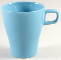 IKEA (1) FÄRGRIK Stackable Coffee Mug in Turquiose Light Blue  by IKEA M... - $13.99