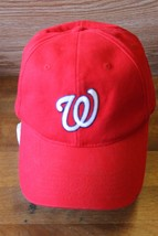Washington Nationals MLB Genuine Merchandise TEI Baseball Hat Red Strapback Cap - $18.99