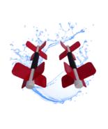 "Aqua Bladez – ""RED"" High Resistance Aqua Dumbbell Set - Total Body Pool Exercise - $59.39"