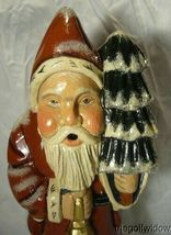 Vaillancourt Woodland Santa with Gold Lantern signed by Judi Vaillancourt image 6