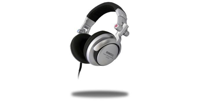 Technical Pro HPS820 - Professional Headphones (Silver)