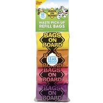 Bags on Board Waste Pick-Up Refill Bags 60 count Multi-Color - $6.99