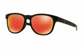 Oakley Stringer OO9315-09 Matt Schwarz / Rubinrot Iridium Linse Sonnenbr... - $89.09