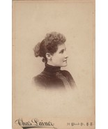 "Antique Cabinet Card Photograph ""Chas. Lainer"" 31 Third Street SF - $23.99"