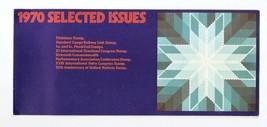 AUSTRALIA - Post Office selected issue souvenir folder 1970 - $1.85