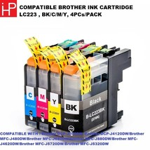 Grade A+,Compatible IPH Ink Cartridge LC223, BK/C/M/Y ,Fit Brother Printer  - $36.44