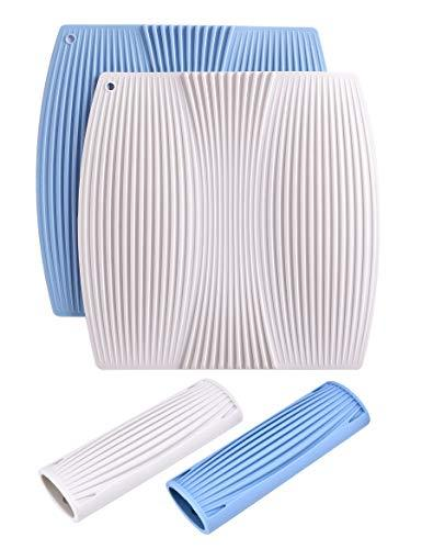 Horoya Pan Handle Sleeves Silicone Hot Pot Holder For