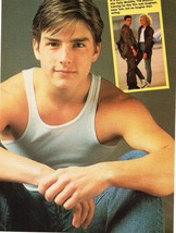 Tom Cruise teen magazine pinup clipping Muslces Young Shirtless
