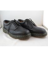 Vintage Dr Martens Shoes - 5 Hole Black Leather Oxfords - US Men's Size 10 - $95.00