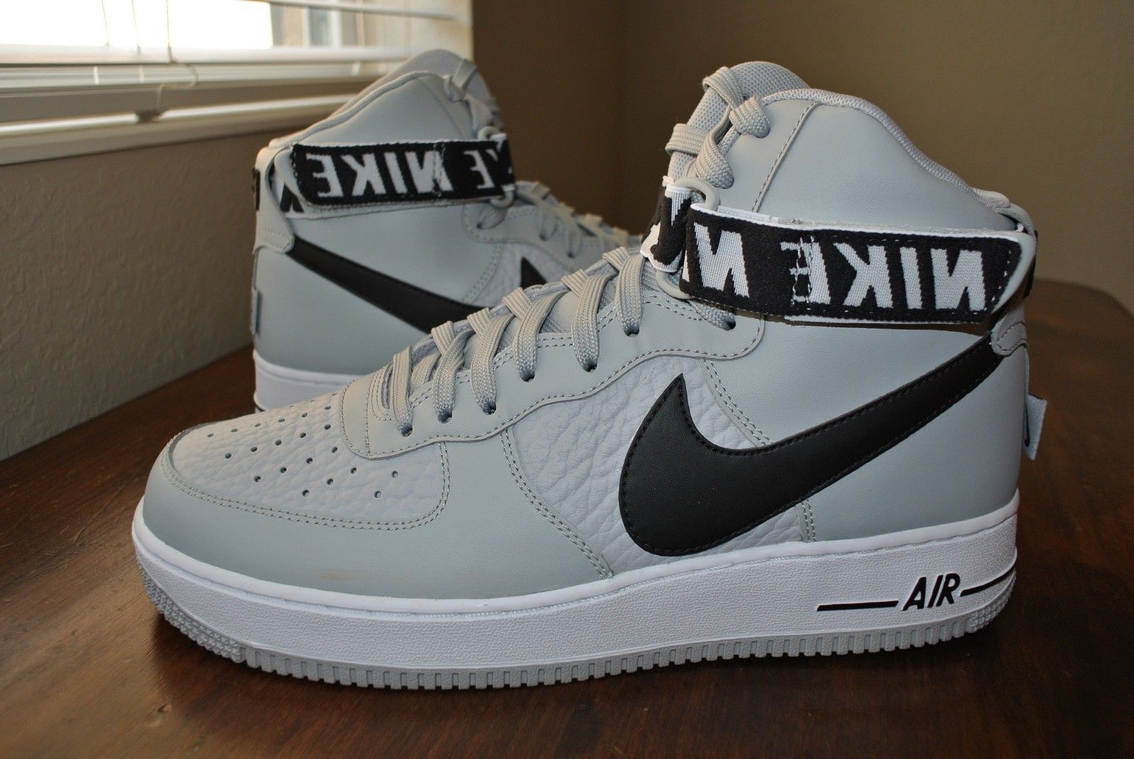 df99f4afc893ce 57. 57. Previous. NIKE AIR FORCE 1 HIGH  07 NBA PACK FLIGHT SILVER 315121  044 US MENS SIZE