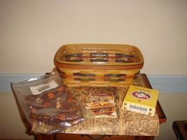 Longaberger 1998 Baker's Bounty Basket Shades Of Autumn Combo  - $38.99