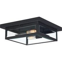 Quoizel WVR1612EK Westover Modern Industrial Outdoor Flush Mount Ceiling Lightin - $999.99