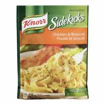 6 X Knorr Sidekicks Chicken & Broccoli Pasta 126g Each Canada -FRESH -Fa... - $25.39